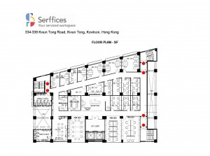 Serffices - Floor Plan 5F 20160218